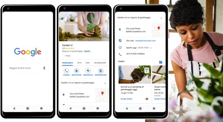 Google My Business per la local SEO
